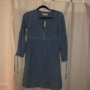 Denim Madewell mini dress